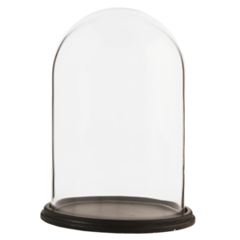 Glazen stolp 31 x 23 cm (Clayre& Eef)