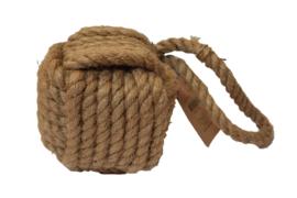 Deurstopper touw vierkant (Esschert Design)
