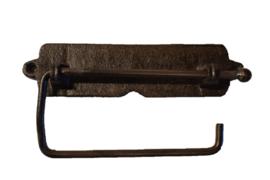 Toiletrolhouder eenvoudig gietijzer (sommerfield)