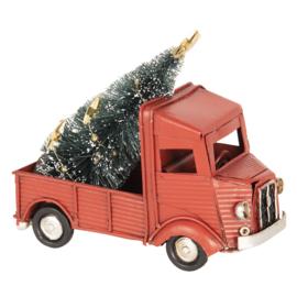 Model vrachtauto kerst(Clayre & Eef)