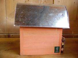 Nestkast / vogelhuisje oranje (Esschert Design)