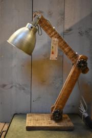 Industrieel  lampje metaal (Go'round)