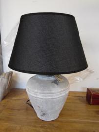 Lampenkap klein zwart (Lavandoux)