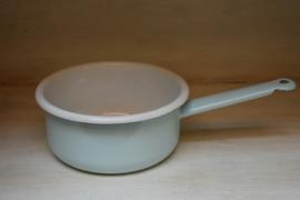 Emaille steelpan lichtblauw (Kitchen Trend)