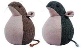 Deurstopper bruine muis (Esschert Design)
