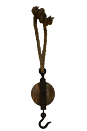 Katrol hout zwart (Sommerfield)