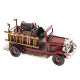 Model oude brandweerauto mini (Clayre&Eef)