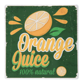 Wandbordje Orange Juice (Clayre & Eef)