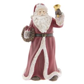 Decoratie kerstman met bel (Clayre & Eef)