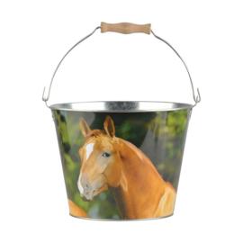 Zinken emmer paard (Esschert Design)