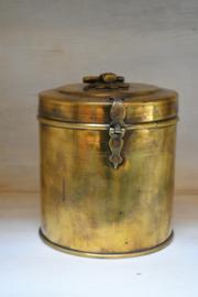 Oude messing pot glans klein (Be-Uniq)