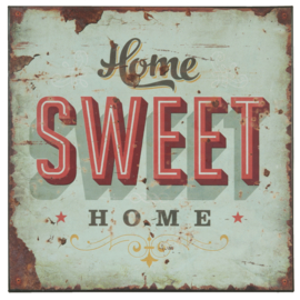 "Bord ""Home sweet home""  (Clayre & Eef)"