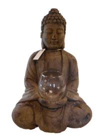 Boeddha met lichtje (Kersten)