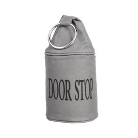 deurstopper met ring Esschert Design grijs