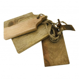Setje snijplankjes huisjes  (Varios)
