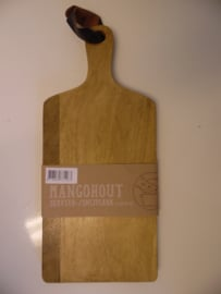 Serveer/snijplank mangohout (Dinnerware & Co)