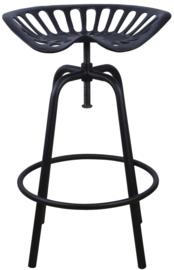 Tractorstoel zwart (Esschert Design)