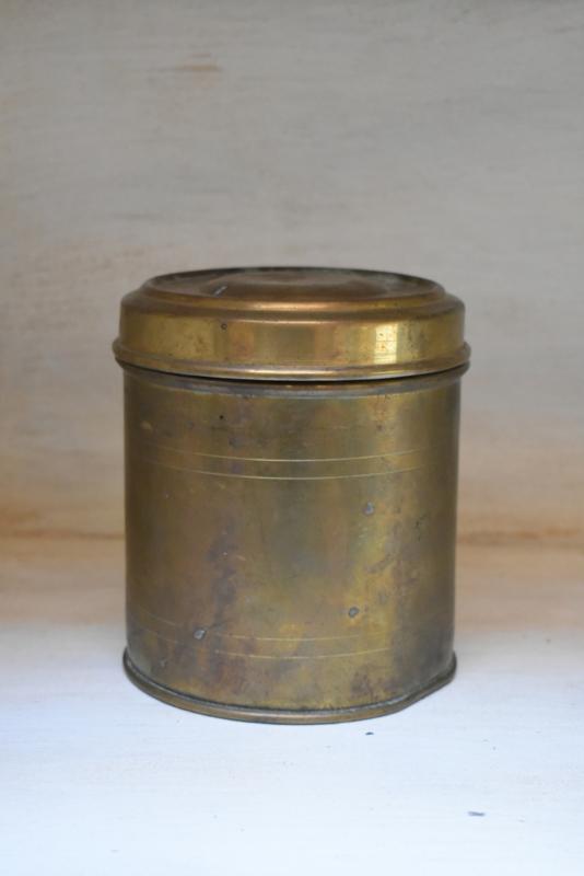 Oude messing  pot  (Evenaar)