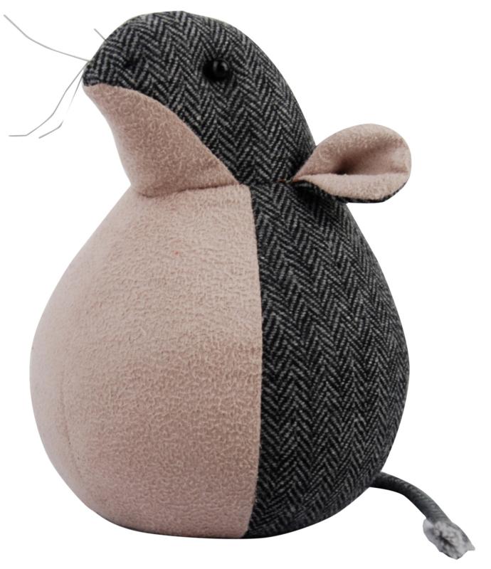 Deurstopper grijze muis (Esschert Design)