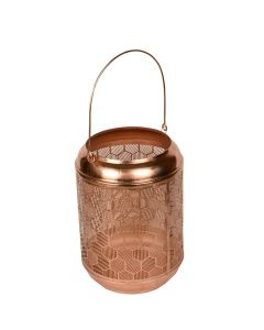 Windlicht Honeybee koper (Branded by)