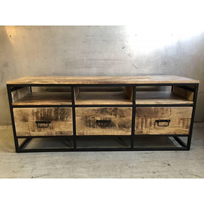 TV-kast / dressoir Atlanta hout/metaal (Varios)