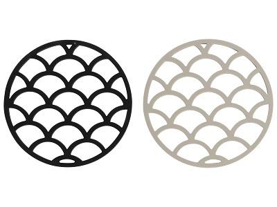 onderzetters siliconen 14 cm