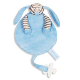 Speendoek hond blauw
