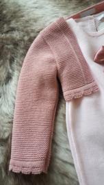 Jurkje in oud roze gebreid ZipZap