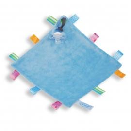 Labeldoek baby blauw