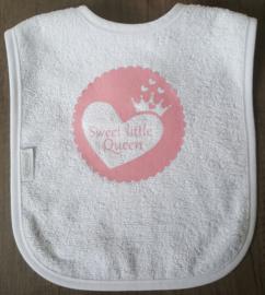 Bedrukte slab - Sweet little queen