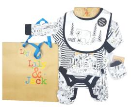 5 delig kledingpakket Unisex