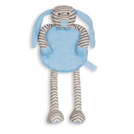 Tutpop hond blauw gestreept