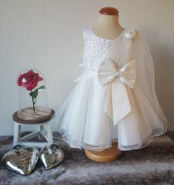 Feest jurk wit