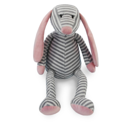Funnies - hond roze gestreept