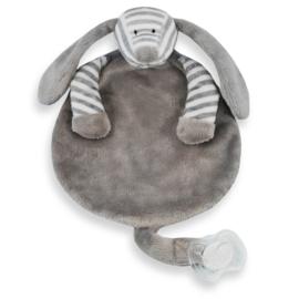 Speendoek hond grijs