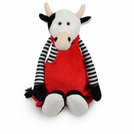 Funnies - koe met rode tuinbroek