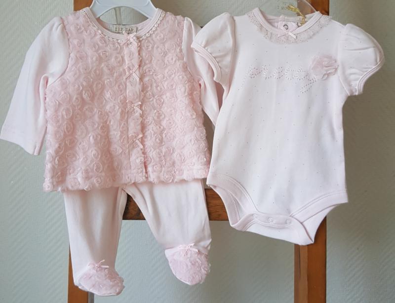 3 delige meisjes set roze ZipZap