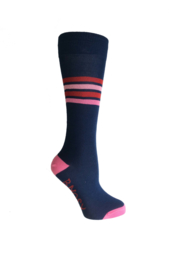 B.Nosy Socks B.Sugar with Stripes - Space Blue