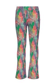 Kidz-Art Flaired pants allover print - Tiger