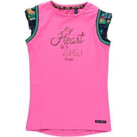 Quapi shirt Amber - Hot Pink