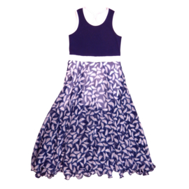 LoFff maxi dress Chiffon - Blues