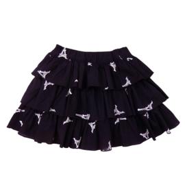 LoFff Panel Skirt Z8130-01