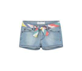 Quapi Girls Jeans Short Avanti - Denim Blue