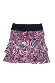 B.Nosy Shell oa Skirt with smocked part - Sorbet Pink Shell