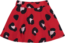 Quapi skirt Stacey 'Rouge Red Leopard'