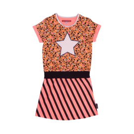 LoveStation22 Dress Maddi - Peach Grey