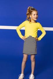 B.Nosy 2-Piece Dress + Long sleeve top - Lemon