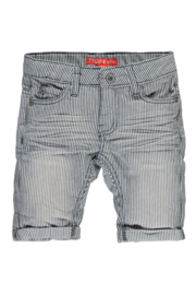 TYGO&Vito Striped Denim Short X803-6621