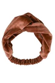 TopItm Headband Sara - Copper Velours