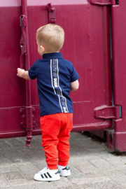 Quapi Baby Boys shirt Biko - Dark Blue